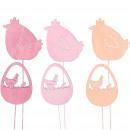 groothandel Woondecoratie: Houten kippenmarlijn om op te plakken, 3 ...